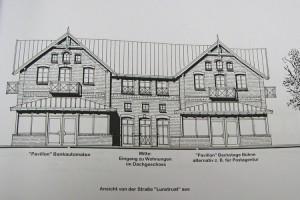 Die Planung für den Neubau...