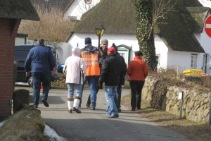 Bürgermeister Bernd Dell-Missier informiert aktuell die Anwohner...