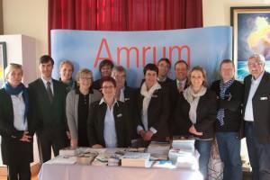 Das Team der AmrumTouristik und die Gastredner