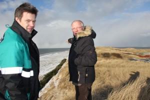 Peter Koßmann bei Ban Horn mit Umweltminister Dr. Robert Habeck