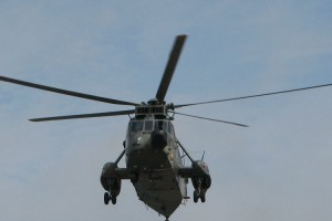 "Marine-Helikopter vom Typ Westland ""Sea King"""