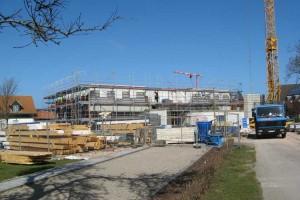 Im Gegensatz zu einer anderen Baustelle auf der Insel, ist hier fast täglich ein Baufortschritt zu erkennen....