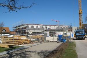 Neubau des Dorfmittelpunkthauses