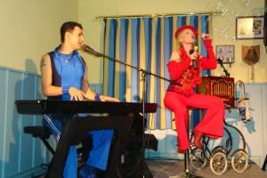 Benny Hiller und Monella Caspar