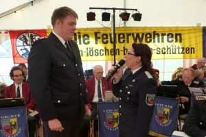 Norman Peters, Wehrführerin Claudia Motzke