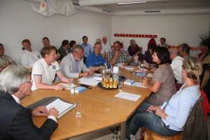 Konstituierenden Sitzung der Gemeindevertretung Wittdün...