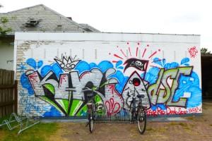 """Wer dieses Grafitti noch """"bewundern"""" will, muss sich beeilen..."""