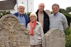 v.l.:Kurt Tönissen, Christa Langenhan, Frank Hansen und Ralf Simon
