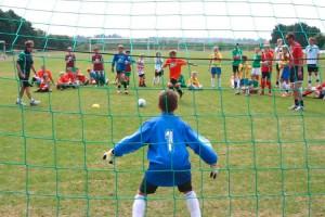 Elfmeterschießen bei der Mini-WM
