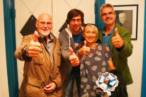 Larry Evers, Heiko Reese, Anja Bublitz und Shanger Ohl
