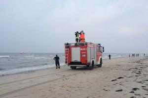 Suche der insularen Rettungskräfte...