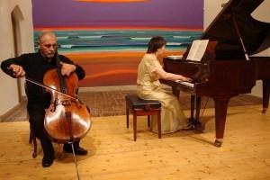 Josef Podhoransky und Shigeko Takeya...