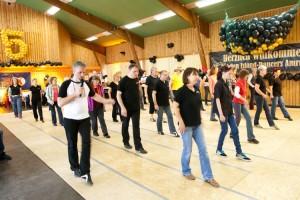 """""""Drill Instructor"""" Dirk Leibing vorne links..."""