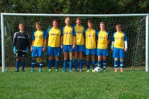Die Mannschaft des TSV-Amrum...