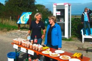 Der Gute Laune Stand von Edna und Almut in Steenodde