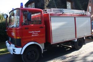 Das Tanklöschfahrzeug steht zur Erneuerung an...