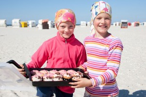Kuchen am Strand...