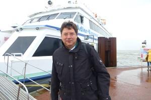 Minister Reinhard Meyer macht sich auf den Weg nach Sylt...