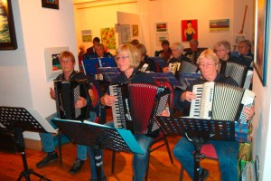 Die Amrumer Akkordeongruppe feiert in diesem Jahr ihr 25-jähriges Bestehen