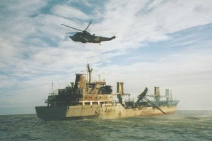 Rettungsaktion per Hubschrauber...