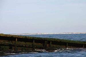 Amrums Küste aus Sicht der Pallas...