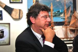 Die Belange der Insulaner fanden ein offenes Ohr bei Minister Meyer...