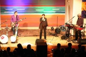 Ulla Meinecke mit Band
