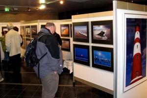 Die Besucher zeigten sich begeistert von den Fotos...