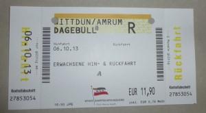 Könnte bald gleichzeitig Kurkarte sein - die WDR Fahrkarte...