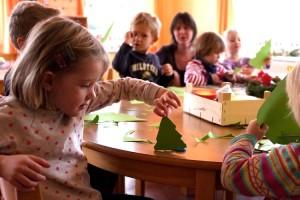 Basteln für den Weihnachtsbasar...