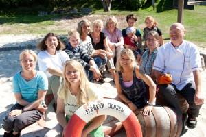 Das Flenerk Jongen Team - hier ein Sommerbild...
