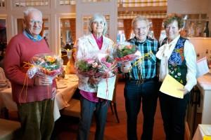 Heinrich Flor, Renate Kupfer, Theodor Jensen und Inge Sarsfield