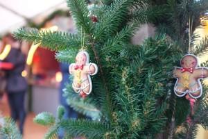 Weihnachtliche Stimmung auf dem Amrumer Weihnachtsmarkt...