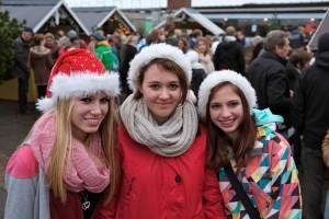 Weihnachtsschülerinnen