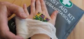 Verletzungen bei Kindern richtig versorgen...