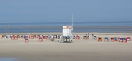 Bekanntes Bild am Norddorfer Strand...