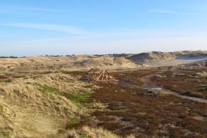 Ein neues altes Haus in den Dünen