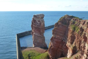 """Beliebtes Ausflugsziel... die """"Lange Anna"""" auf Helgoland"""