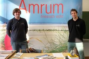 Die beiden Vertreter der AmrumTouristik berichteten von ihrer täglichen Arbeit...