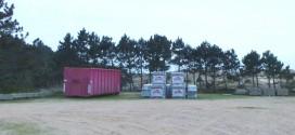 Lagerstätte auf dem Parkplatz Norddorf muss kurzfristig geräumt werden …