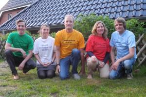Thomas Tringl, Gaby Gauss, Malte Harjes, Melanie + Uwe Köller