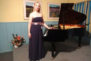 Pianistin Lydia Maria Bader