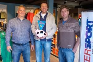 v.l. Nils Isemann, Stephan Dombrowski, Marc Isemann