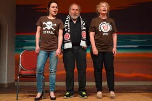 Raffaela Scheibner, Hans Scheibner und Petra Melchert-Scheibner
