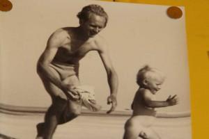 Clas mit seinem Vater