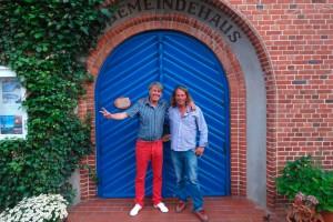 Jo Bohnsack und Freund Michael Hinz