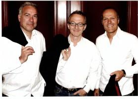 """Die """"Söhne Hamburgs"""" - Stefan Gwildis, Rolf Claussen und Jota Wendt"""