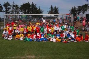 Gruppenbild nach der WM