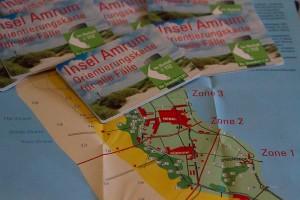 Kleine handliche Karte mit allen Schildnummern...