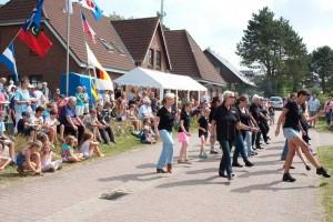 Amrums Linedancer bereicherten das Fest...